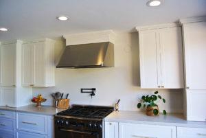 kitchen stainless hood
