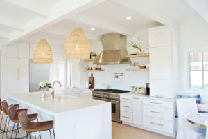 kitchen gold accents