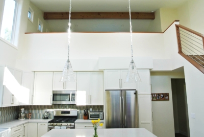 hanging lights in kitchen