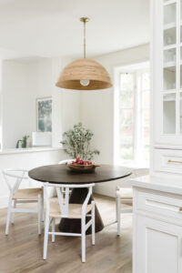 mid century, modern, farm table, B.A. Worthing Inc, Interior Designer, General contractor