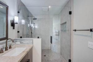 Coastal Bathroom, Remodel, Carlsbad Contractor, Carlsbad Interior Designer, General Contractor