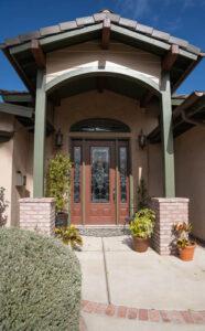 front door, entrance, interior designer, san Diego designer, Carlsbad remodel, general contractor